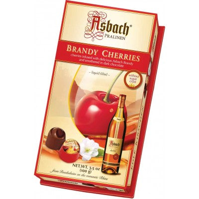 Asbach Brandy Cherries without sugar Crust 3.53 oz