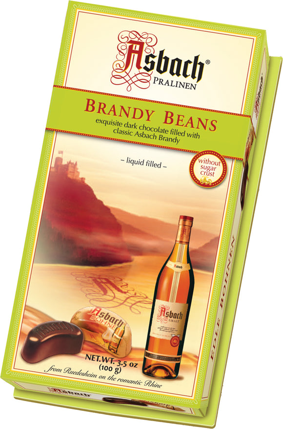 Asbach Brandy Beans without sugar Crust
