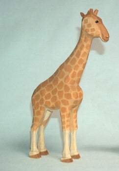 1860 Lotte Sievers Hahn Hand carved Wooden Giraffe. 9.25