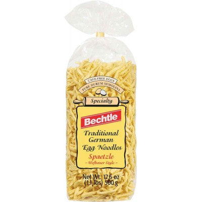 Bechtle Trditional German Egg Noodles Spaetzle - Black Forest Style