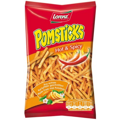 Lorenz Pomsticks Sour Cream Flavour