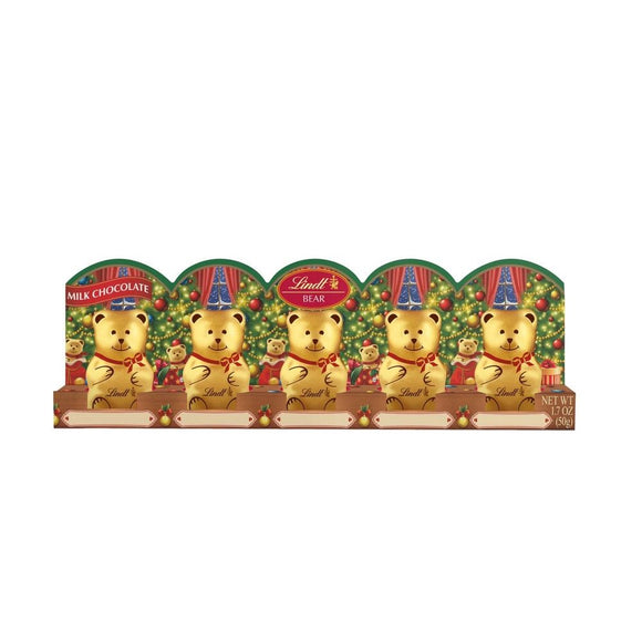 5 Lindt Chocolate Bears