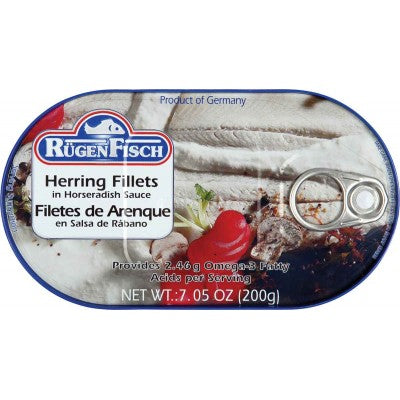 Herring Fillets in Horseradish Sauce
