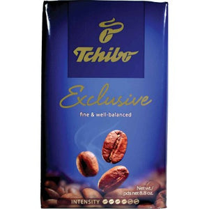 Tchibo Coffee Cafe Exclusive  8.8 oz Best before 8/3/21
