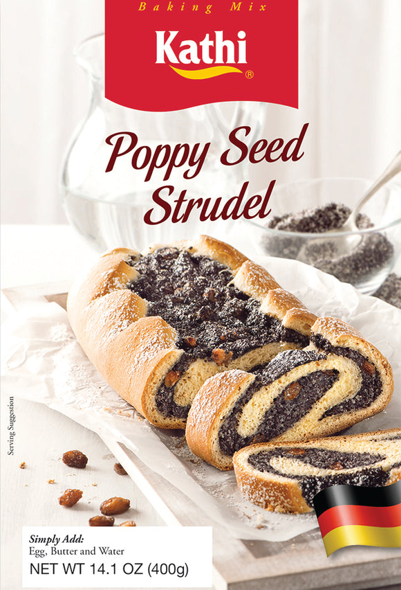 Kathi Poppy Seed Strudel Baking  Mix