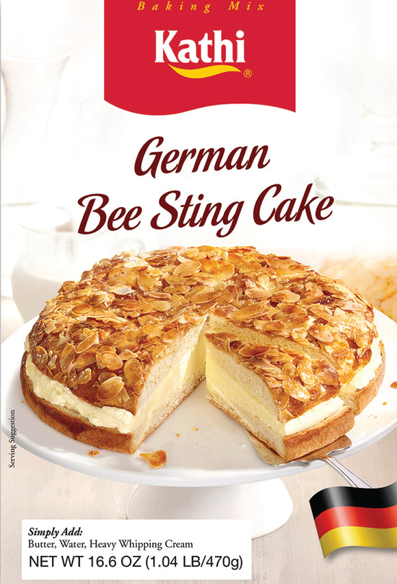 Kathi German Bee Sting Cake