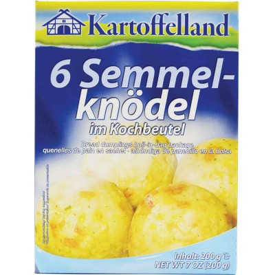 Kartoffelland 6 Bread Dumpling in Cooking Bag