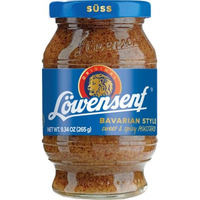 Loewensenf Bavarian Style Sweet and Spicy  Mustard
