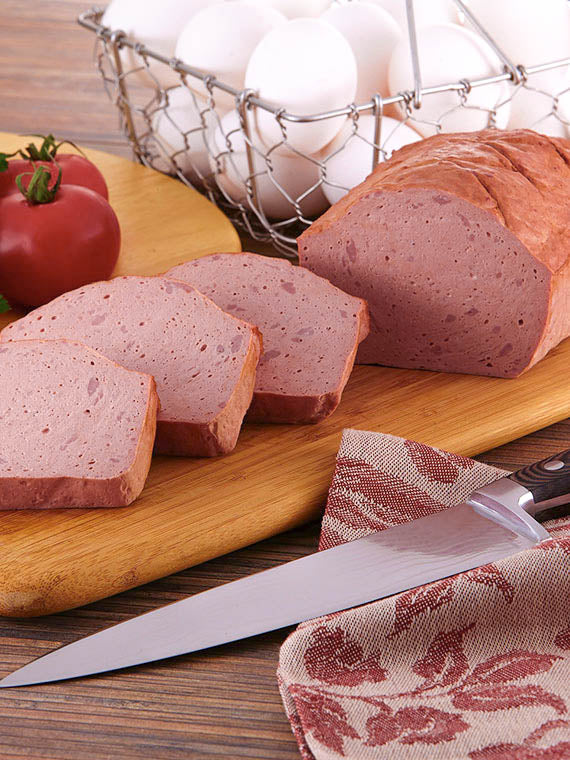 Leberkaese Cooked  Pork and Beef Loaf Liver Cheese