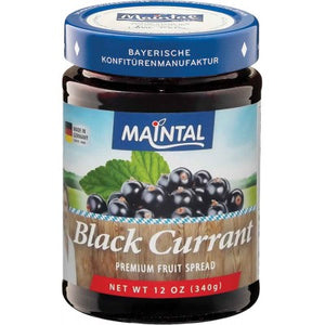 Maintal Organic Fruit Spread Black Currant