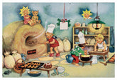 Glitter Advents Calendar Greeting Card with Envelope Baumgarten's Christmas World""