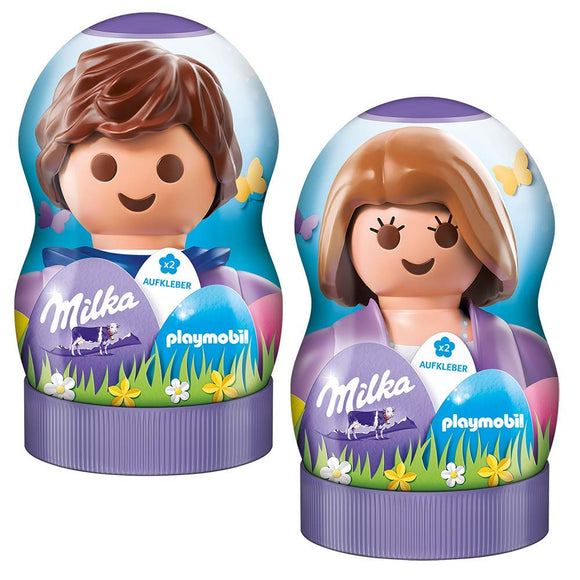 Milka Playmobil with 2 Stickers