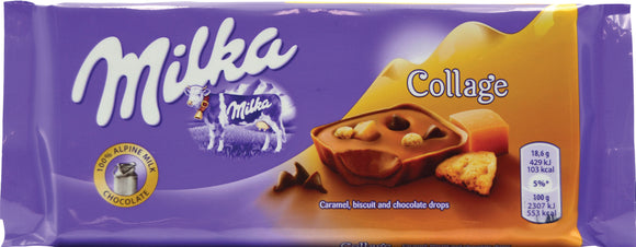 Milka Collage Chocolate Made in Germany