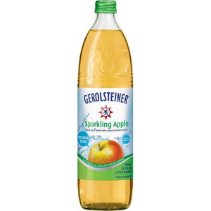 Gerolsteiner Sparkling  Apple Juice with natural Mineral Water