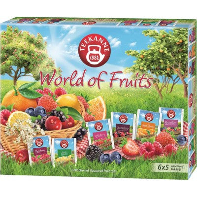 TEEKANNE's best World of Fruit teas