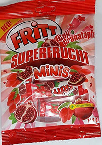Fritt Super Frucht Minis Superfruit Minis Goji and Pomegranate