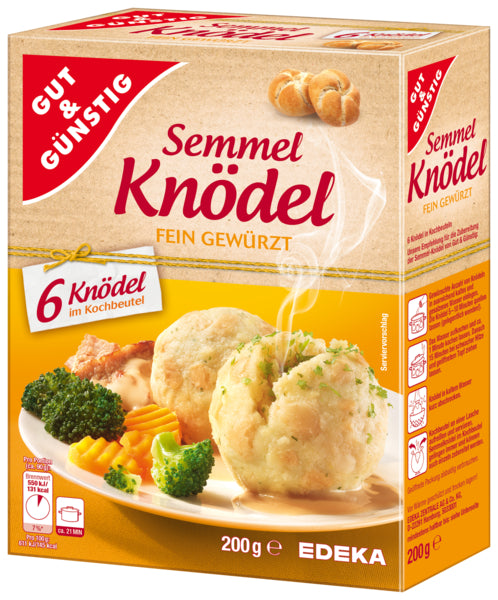 Gut & Guenstig Semmel Knoedel/  Bread Dumplings in a cooking bag