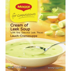 Maggi Lauch Cremesuppe / Cream of Leek Soup  Made in Germany