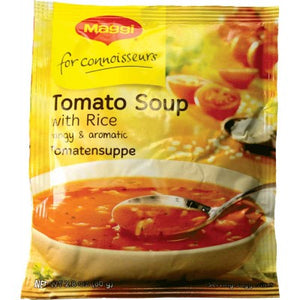 Maggi Tomatensuppe / Tomato Cream Soup with Rice  Made in Germany