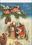 "Advent tear-off calendar ""Happy Time"" Baumgarten, Fritz"