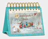 "Tisch-Adventskalender ""24 nostalgische Grüße""- Table advent calendar ""24 nostalgic greetings"""