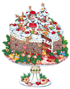 "Advent Calendar ""Black Forest cake"" Broeske-Haas, Monika"