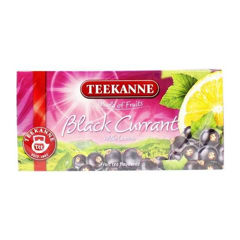 Teekanne Black Currant with Lemon Fruit Tea