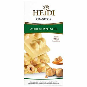 Heidi Grand'or White Haselnuts Chocolate