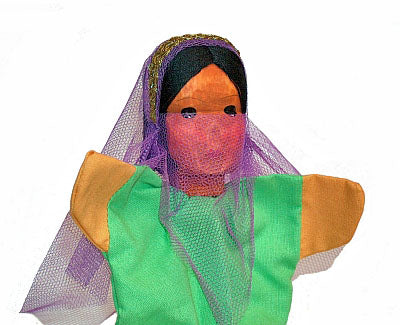 FATIMA Hand Carved Glove Hand Puppet