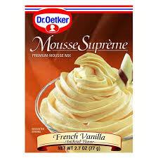 Dr. Oetker Mousse Frenche Vanille