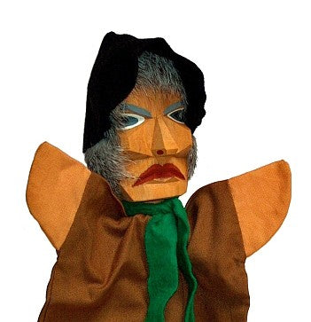 Hannes Robber Hand carved Glove Hand Puppet
