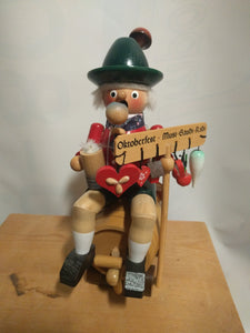 Steinbach Oktoberfest Bavarian Rauchermann / Smoker  (incense smoker )