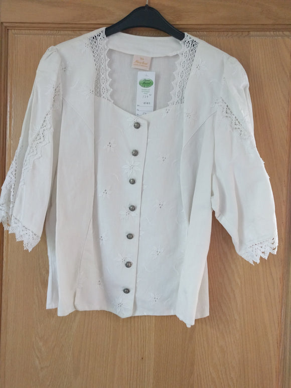 Trachten Blouse Mieder Top