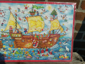 Advent Calendar Advent Sailing Boat