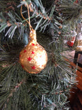 Riegelein Hollow Ball Chocolate Christmas Tree Ornament