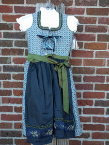 Stockerpoint Jr. Dirndl 3tlg.  JULIANA smoke and midnight blue