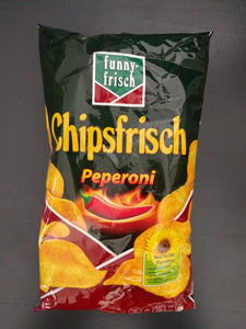 Funny Frisch Chips Pepperoni