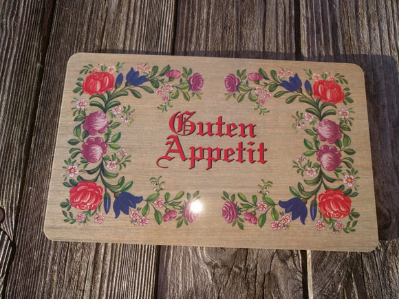 Guten Appetit Breakfast Cutting  Board