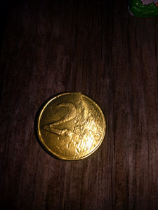 Chocolate  Figurine Gold Coin