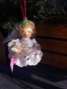 Steinbach Christmas Ornament Bride