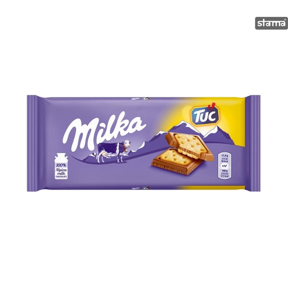 German Milka & Tuc Chocolate