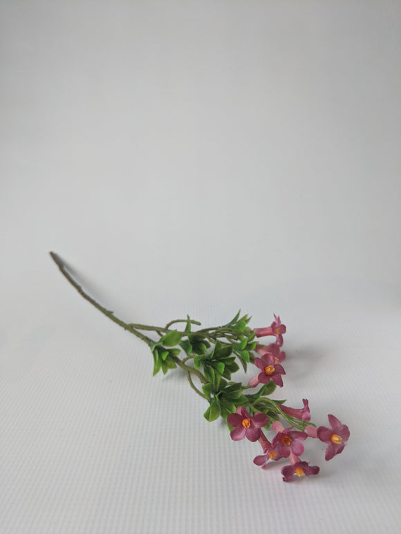 Silk Alpine Rose Stem