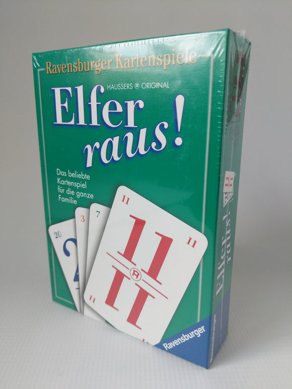 Elver Raus Card Game