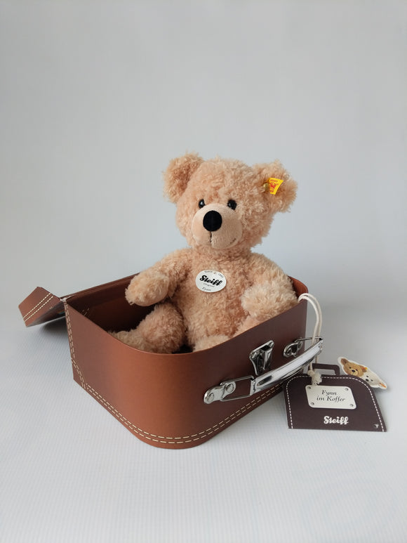 Steiff Teddy Bear in a Suit Case