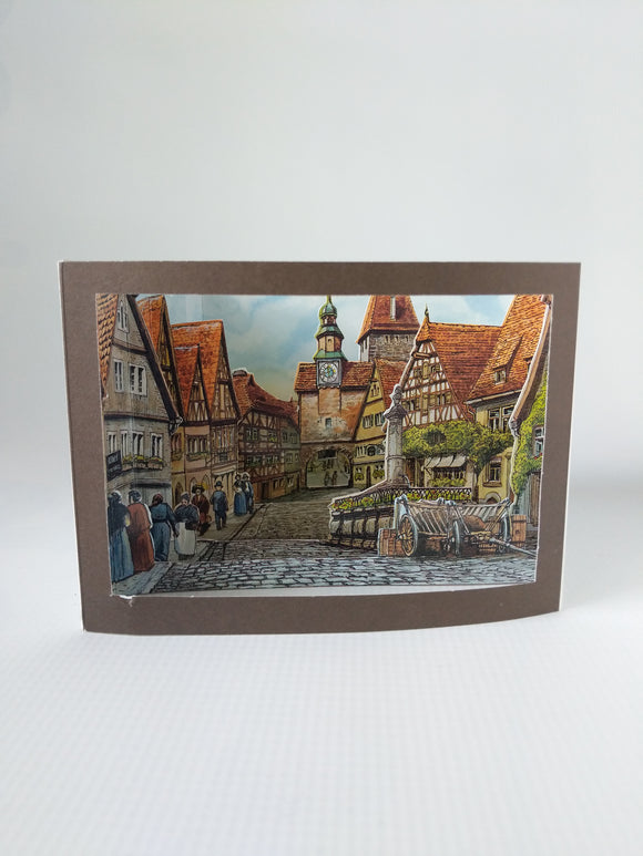 Paper Box Card  Rothemburg