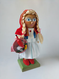 Hand Made Steinbach Nutcracker Little Red Riding Hood