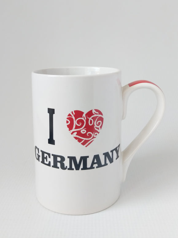 I Love Germany Porcelain  Mug