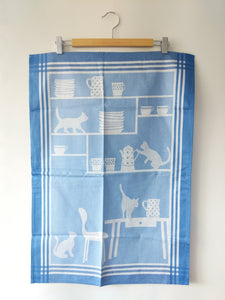 Cat Cabinet Dishcloth