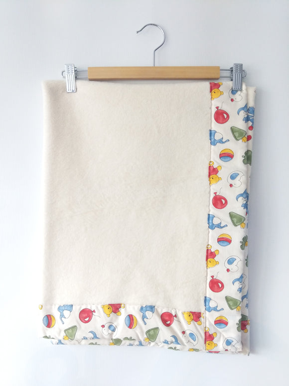 Cotton Fleece Baby Blanket