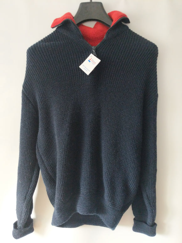 North German Wool Troyer Sailor's Sweater